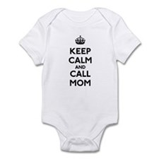 Keep Calm and Call Mom Infant Bodysuit
