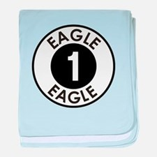Space: 1999 - Eagle 1 Logo baby blanket