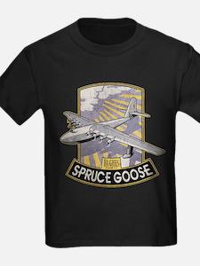 H-4 Hercules Spruce Goose Grununge T-Shirt