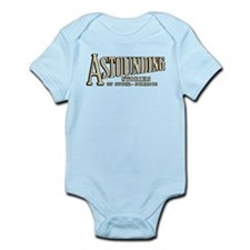 Astounding Stories pulp logo Body Suit