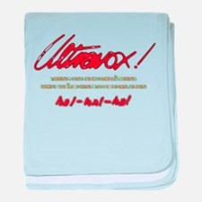 Ultravox Ha!-Ha!-Ha! baby blanket