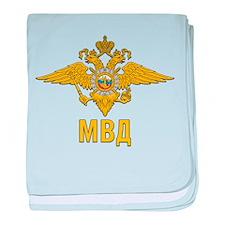 MVD Ministry of Internal Affairs Embl baby blanket