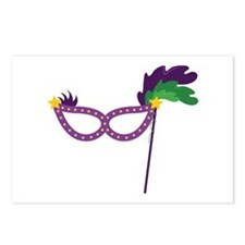 Party Mask Postcards (Package of 8)