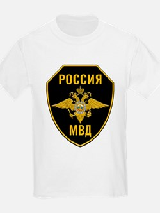 MVD Ministry Of Internal Affairs Crest T-Shirt