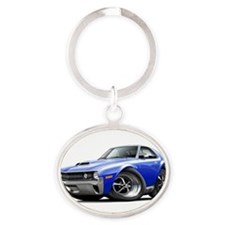 Unique Muscles Oval Keychain