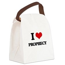 I Love Prophecy Canvas Lunch Bag