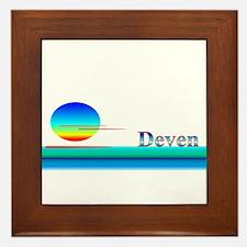 Deven Framed Tile