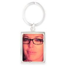 Pamela Theresa Portrait Keychain