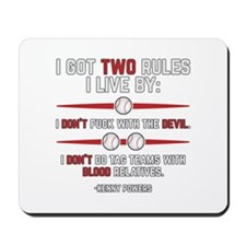 Two Rules Mousepad
