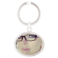 Pamela Theresa Oval Keychain