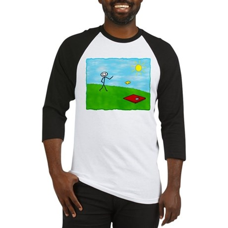 Stick Person (Image Only) Baseball Jersey