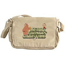 Merry Freakin' Christmas Messenger Bag