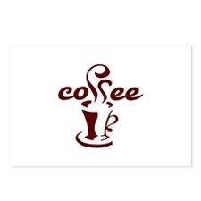 COFFEE CUP Postcards (Package of 8)