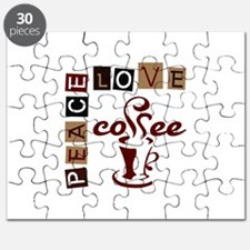 PEACE LOVE COFFEE Puzzle