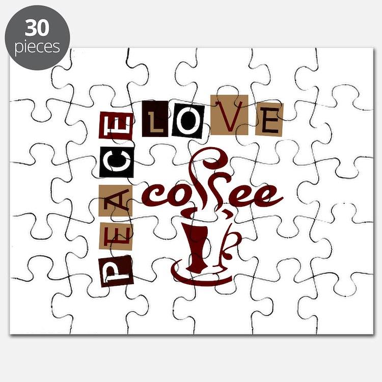 PEACE LOVE COFFEE Puzzle