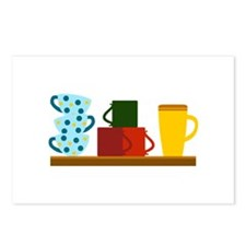 COFFEE SHELF Postcards (Package of 8)