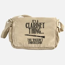 Clarinet Thing Messenger Bag