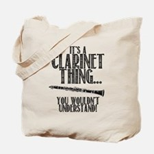 Clarinet Thing Tote Bag