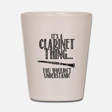 Clarinet Thing Shot Glass