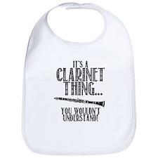 Clarinet Thing Bib