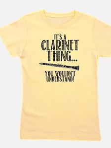 Clarinet Thing Girl's Tee