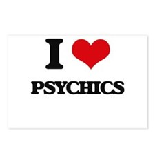 I Love Psychics Postcards (Package of 8)