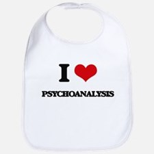 I Love Psychoanalysis Bib