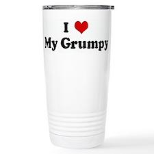 Cute Grumpy Travel Mug
