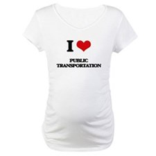 I Love Public Transportation Shirt