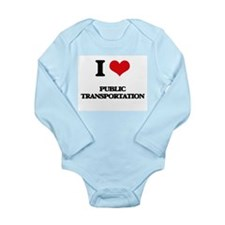 I Love Public Transportation Body Suit