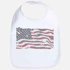 Unique God and country Bib