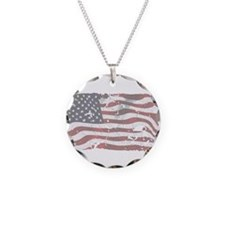 Unique God and country Necklace