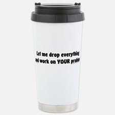Cute Let me see your dick Travel Mug