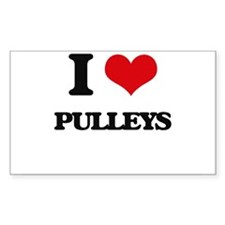 I Love Pulleys Decal