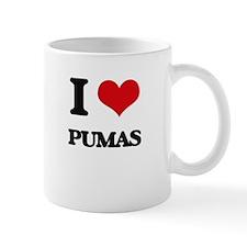 I Love Pumas Mugs