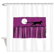 Dining out Shower Curtain