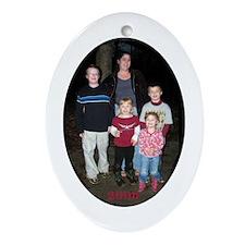 Kats Kids - Ornament (Oval)