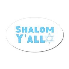 Shalom Yall Wall Decal