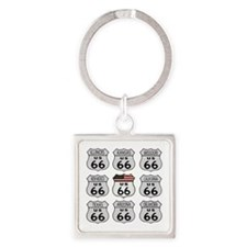 Route 66 Signs Keychains
