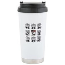 Route 66 Signs Travel Mug