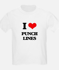 I Love Punch Lines T-Shirt