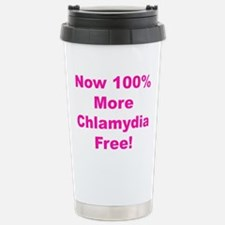 Chlamydia Free Stainless Steel Travel Mug