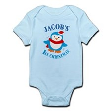Jacob's first Christmas Body Suit