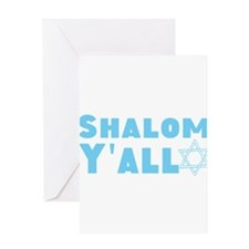 Shalom Yall Greeting Cards