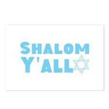 Shalom Yall Postcards (Package of 8)