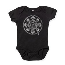 Medieval Astronomy Sun and Planets Baby Bodysuit