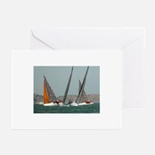 sailing + yacht racing photos Greeting Cards (6)