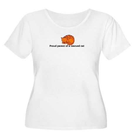 Proud Parent Women's Plus Size Scoop Neck T-Shirt