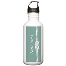 Turquoise Rope Persona Sports Water Bottle