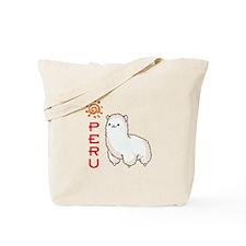 ALPACA PERU Tote Bag